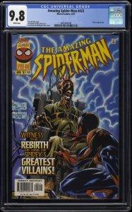 Amazing Spider-Man #422 CGC NM/M 9.8 White Pages