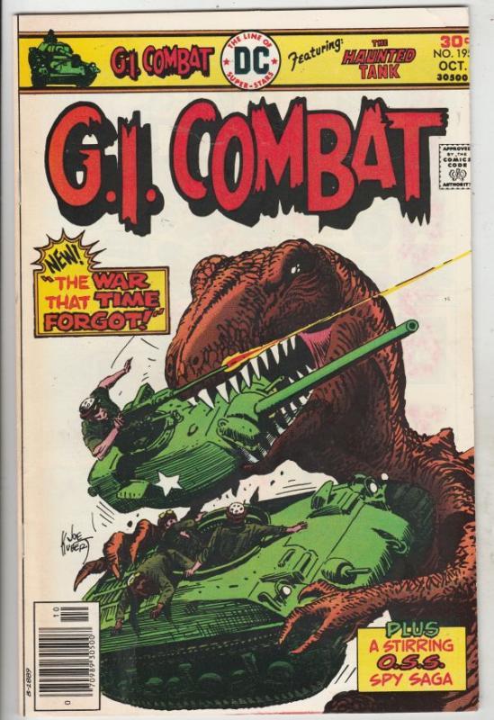 G.I. Combat #195 (Oct-76) VF High-Grade The Haunted Tank