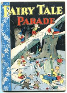 Fairy Tale Parade #8 1943- Walt Kelly- Dell Golden Age G