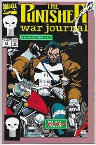Punisher War Journal (vol. 1, 1988) #51 VF/NM Dixon/Fox, Garney/Janson cover