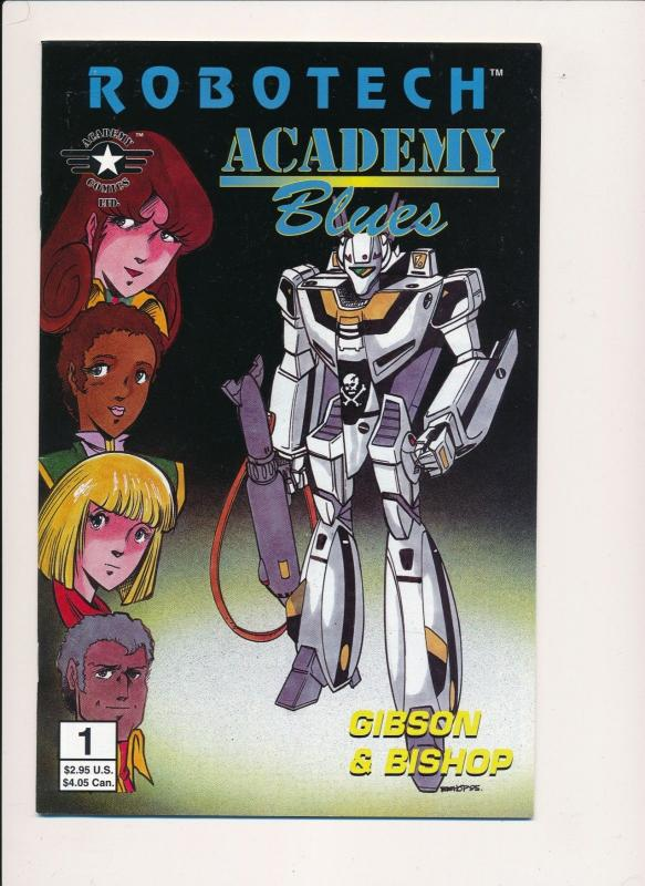 ROBOTECH Academy Blues #1 - Academy Comics Ltd. 1995 ~ VF  (PF277)