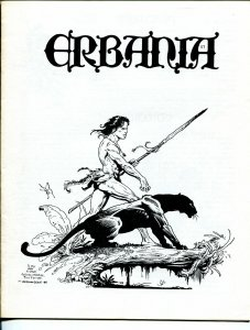 Erbania #57 1987 -Edgar Rice Burroughs-Tarzan-Wm Stout-Tom  Yeates-info-pix- VG