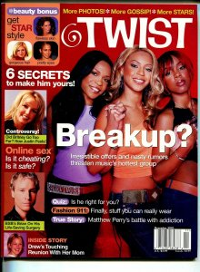 Twist 11/2001 Destiny's Child-Britney Spears-Beyonce-FN/VF