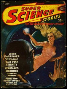 Super Science Pulp July 1950- John D MacDonald-Fredric Brown G/VG