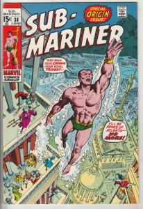 Sub-Mariner #38 (Jun-71) NM- High-Grade Sub-Mariner (Prince Namor)