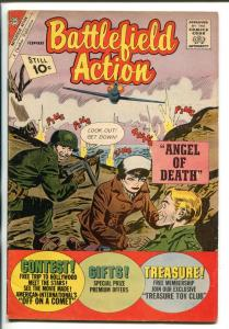 BATTLEFIELD ACTION #10 1962-CHARLTON-WWII-GUADALCANAL-HIROHITO-vg/fn