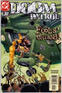 Doom Patrol #2 (3rd Series) 9.4 NM