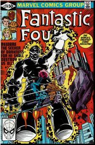 Fantastic Four #229, 9.0 or Better *KEY* 1st Ebon Seeker