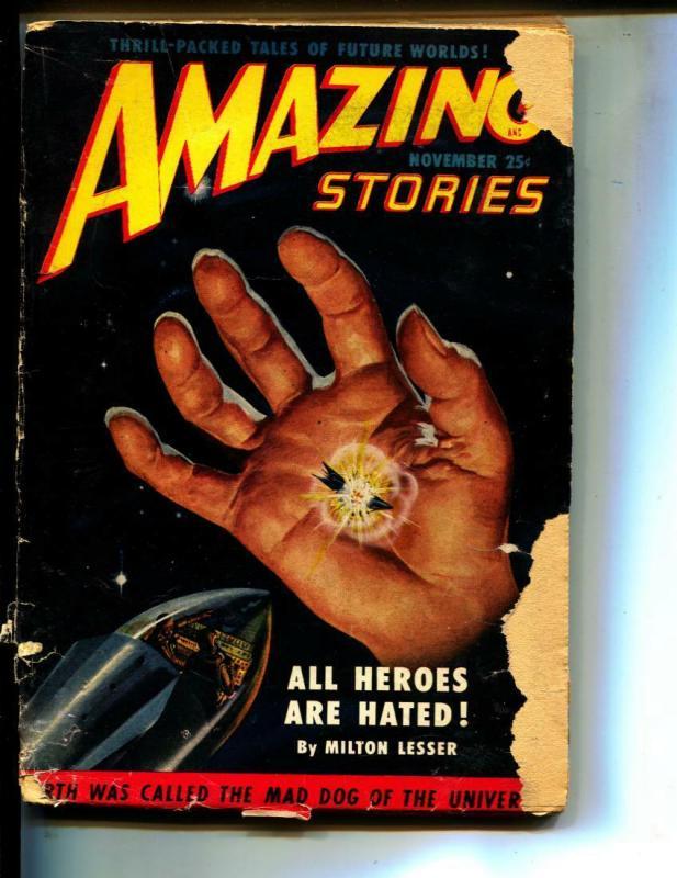 Amazing Stories-Pulp-11/1950-Milton Lesser-Gerald Vance