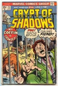 Crypt of Shadows #15 1974-Marvel Bronze Age Horror VG