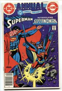 DC Comics Presents Annual #2 1st Superwoman Kristin Wells comic book
