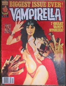 VAMPIRELLA #64 (Warren,10/1977) VERY GOOD MINUS (VG-) Gonzalo Mayo