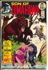 Tomahawk  #137 1971-DC-Son of Tomahawk-Kubert-Strong Bow-Hatfields-VF