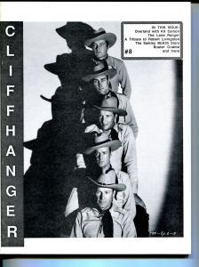 Cliffhanger #8 1988-WOY-Lone Ranger-movie serials-Buster Crabbe-Kit Carson-FN/VF