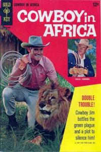 Cowboy in Africa #1, Fine+ (Stock photo)
