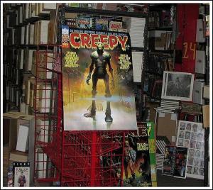 CREEPY 72 CLASSIC 1970s Cyborg! POSTER KEN KELLY