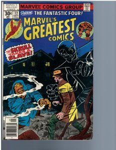 Marvel's Greatest Comics #72 (1977)