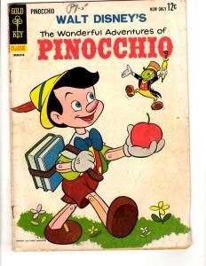 5 Comics Pinocchio World Adventure 3 King Louie 1 Lt. Robin Crusoe Zorro 7 JL30