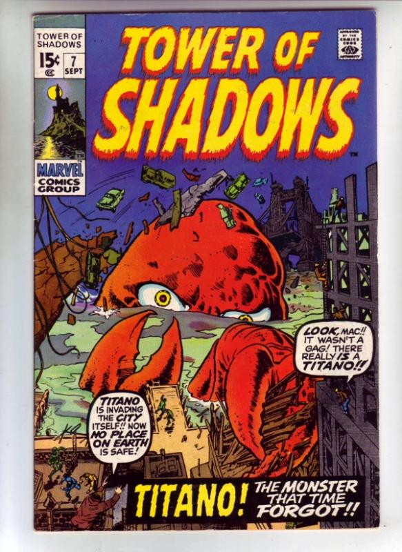 Tower of Shadows #7 (Sep-70) VF/NM High-Grade