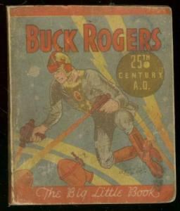 BUCK ROGERS-BIG LITTLE BOOK-25TH CENTURY-1933 COCOMALT VG
