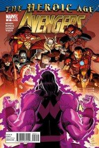 Avengers (2010 series) #2, NM + (Stock photo)