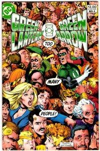 Green Lantern/Green Arrow #3 (1983) Dennis O'Neil Neal Adams NM-