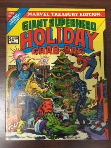 Marvel Treasury Edition Giant Superhero Holiday Grab-Bag 1975-high grade