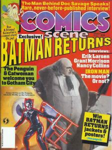 Comics Scene (Vol. 2) #28 VG; Starlog | low grade comic - save on shipping - det