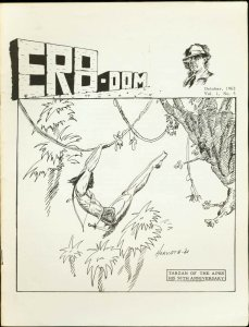 ERB-Dom #5 1962-TARZAN/ Edgar Rice Burroughs Fanzine FN