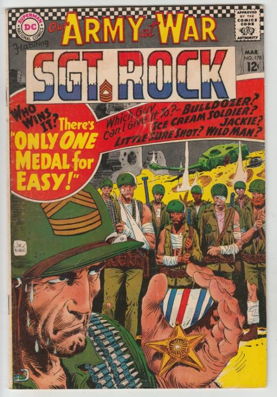 Our Army at War #178 (Mar-67) FN Mid-Grade Easy Company, Sgt Rock