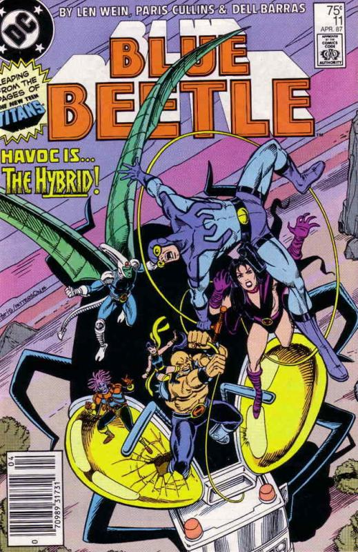 Blue Beetle (3rd Series) #11 FN; DC | save on shipping - details inside