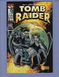 Tomb Raider #10 NM Top Cow 2001