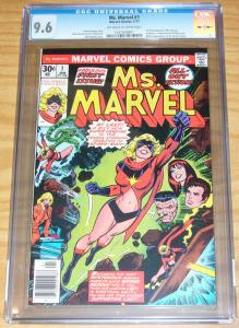 Ms. Marvel #1 CGC 9.6 romita carol danvers (now captain marvel) as ms. marvel