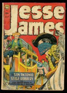 JESSE JAMES JULY 1953-REALISTIC-AVON-WESTERN-KUBERT ART G