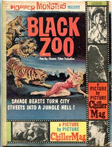 Black Zoo Magazine #1 1963- Horror Movie- Charlton- Chiller G