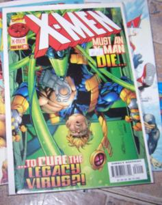 X MEN # 64 1997 marvel LEGACY VIRUS SHANG CHI ZERO TOLERANCE