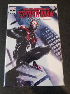 MILES MORALES SPIDER-MAN #1 SIGNED BY CLAYTON CRAIN WITH COA.