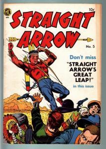 STRAIGHT ARROW #5-1950-WESTERN-COMIC-GOLDEN AGE VG/FN
