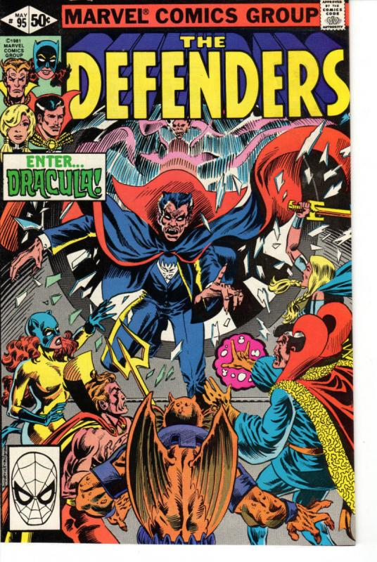 DEFENDERS #95, VF/NM, Dracula, Dr Strange, Valkyrie, 1972 1981, Son of Satan