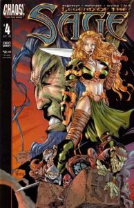 Legend of the Sage #4 VF; Chaos   save on shipping - details inside