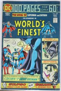 WORLD'S FINEST COMICS #228 (DC) March, 1975 VERY GOOD 100 page giant BATS SUPES