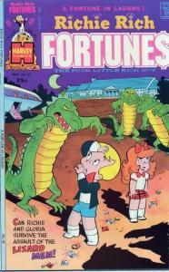 Richie Rich Fortunes (Harvey 1975-82) #22-63 Lot of 25Diff Cartoon Laughs Lux!