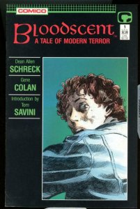 BLOODSCENT #1, NM-, Gene Colan, Comico, 1988, more  in store