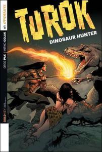 Turok: Dinosaur Hunter (Dynamite, Vol. 1) #1 (2nd) VF/NM; Dynamite | save on shi