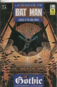 Leyendas de Batman numero 06: Ghothic