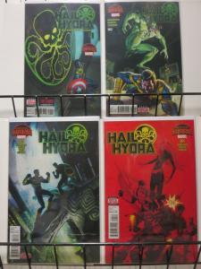 HAIL HYDRA (2015) 1-4  Nomad vs Hydra...!?!
