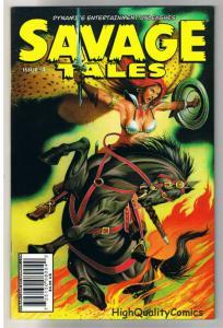 SAVAGE TALES #4, NM, David Beck, Red Sonja, Femmes, 2007, more RS in store