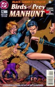 Birds of Prey: Manhunt #4, NM (Stock photo)