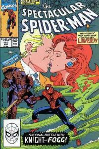 Spectacular Spider-Man (1976 series) #167, VF+ (Stock photo)
