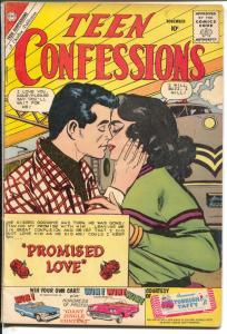 Teen Confessions #8-1960-Charlton-railroad cover-Fall From Cloud 9-FN